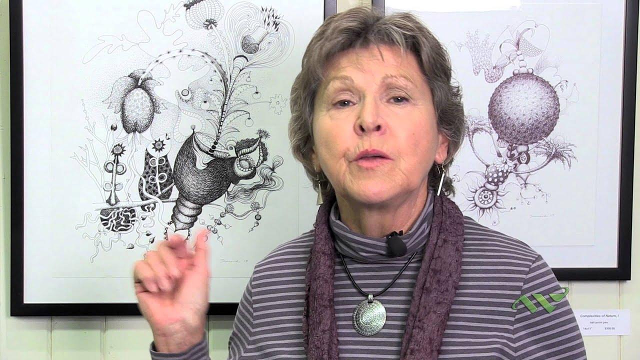 Wellesley College Art Instructor Featured In Exhibit At Wellesley Botanical Gardens Youtube