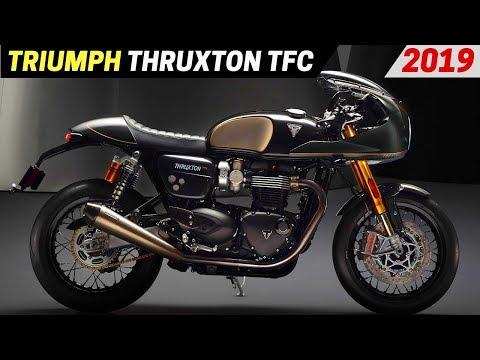 NEW  Triumph Thruxton TFC - Considerably More Power Than The Thruxton R