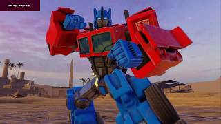 TRANSFORMERS : Forged To Fight Level 1 Gameplay [Android Game]  Youtube
