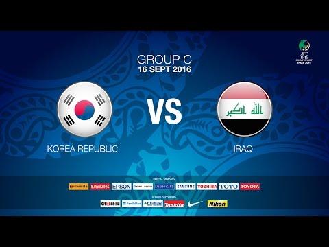 #AFCU16 M05 Korea Republic vs Iraq (Group C) - News Report