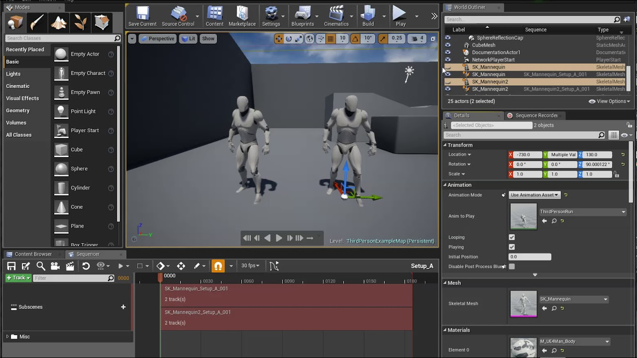 Sequence Recorder | Unreal Engine Documentation