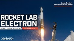 Watch Rocket Lab launch their awesome Electron Rocket for NASA / NRO