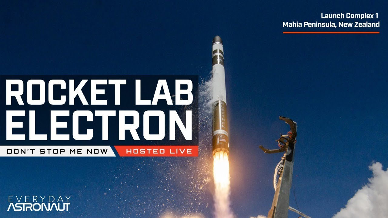 Watch Rocket Lab launch their awesome Electron Rocket for NASA / NRO / RAAF
