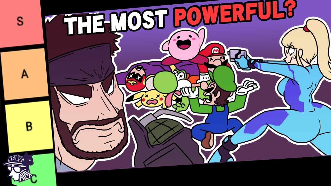 The Smash Ultimate CANONICAL Power Tier List - RelaxAlax