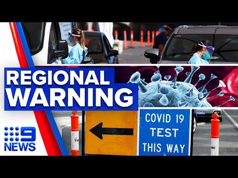 Coronavirus: Regional NSW on alert after camper tests positive | 9 News Australia thumbnail