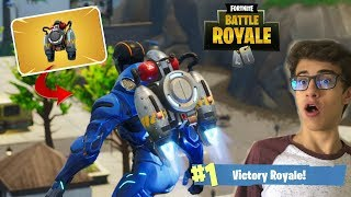 FORTNITE-I WON THE MATCH USING THE JET PACK-RICK SANTINA