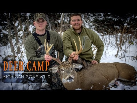 Michigan Deer Camp - Michigan Rifle Deer Hunting