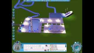 How to build a simple Water Park in Roller Coaster Tycoon 3 - Soaked! 1080 HD!