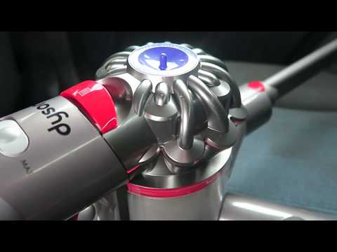 Cleaning My Car With The Dyson V8 Absolute - AD