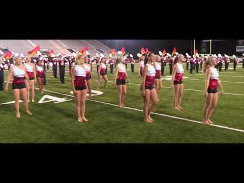NIU Huskie Marching band 2015