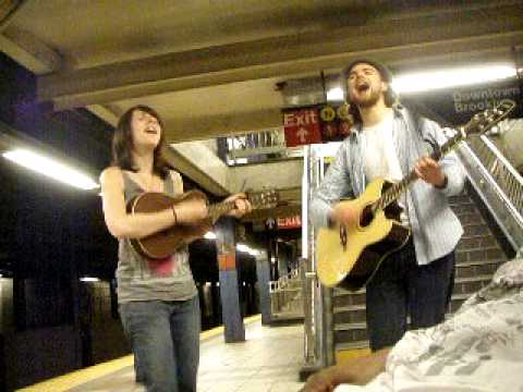 """NYC Subway Artists - Cover - """"I'm Yours"""" By Bruno Mars"""