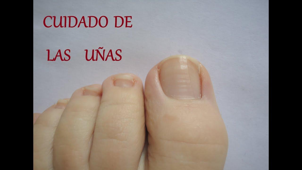 cuidado de las uñas de los pies - YouTube