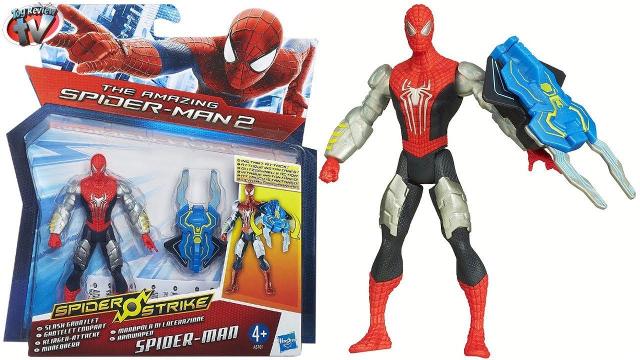The Amazing Spider-Man 2: Slash Gauntlet Figure Toy Review ...