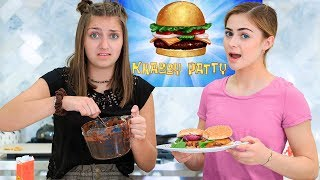 Trying to Make a Krabby Patty *and other famous TV foods*