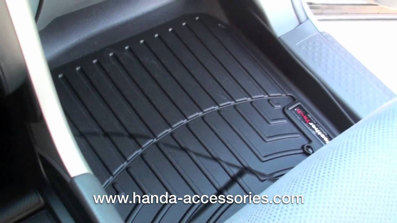 Exceptional 2006 2008 Honda Pilot WeatherTech Floor Liners Installation