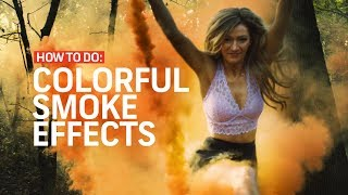 3 Colorful Smoke Effects For Films and Music Videos | Cinematography Techniques