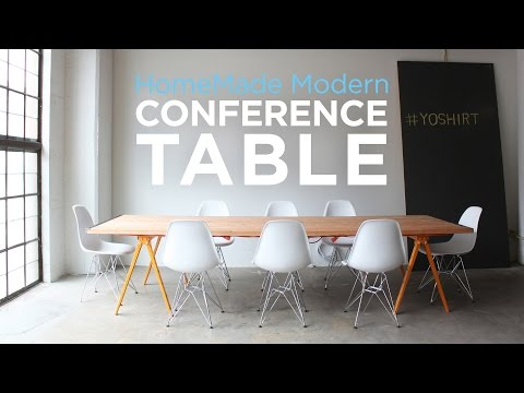 DIY Conference Table