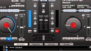 Enganchados de cumbia. Virtual DJ