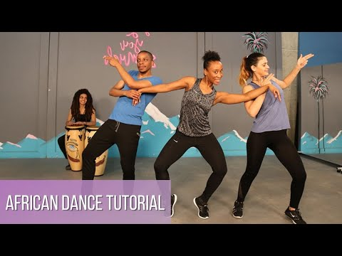 Learn African Dance Moves For Beginners | 5 Min Dance Tutori