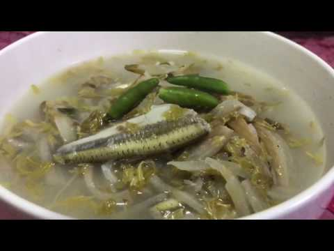 Asian Food | Homemade Recipes | Sour Soup In My Vilalge | សម្លរម្ជូរចេក