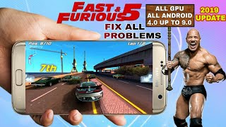 Fast & Furious 5 The Movie Official Game Download for All Android | Fix All Problems | HD GAMEPLAY