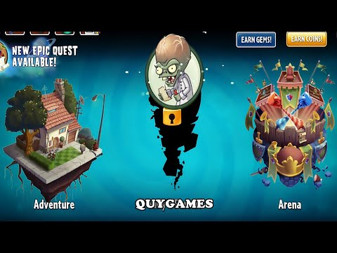 Plants Vs. Zombies 2: New Update 7.9.1, New World, New Zombies, New Map