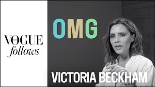 Victoria Beckham : Fashion speed-dating |  #VogueFollows | VOGUE PARIS