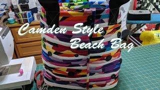 Camden Style Beach Bag
