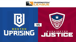 Boston Uprising vs Washington Justice   Présentée par Washington Justice   Jour 1