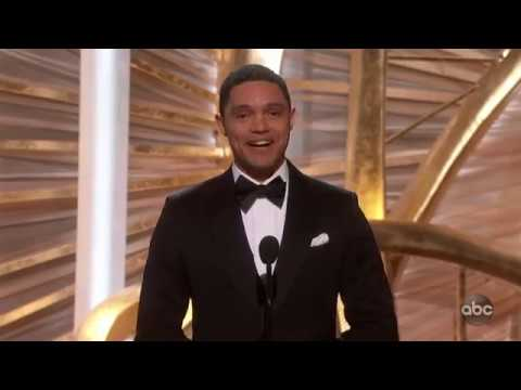 Trevor Noah Introduces BLACK PANTHER At The Oscars Awards