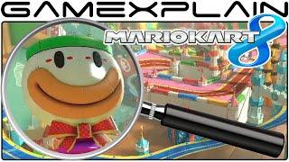 Mario Kart 8 Analysis - Ribbon Road GBA DLC Track (Secrets & Hidden Details)
