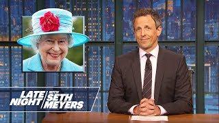 Trump Derangement Syndrome, Queen Elizabeth