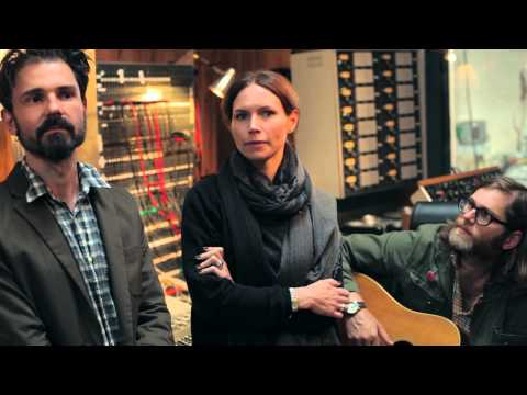 Nina Persson - Behind the scenes at Svenska Grammofonstudion