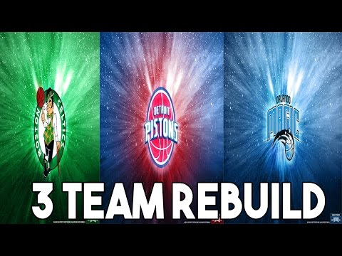 NBA 2K16 MyLeague | 3 Team Rebuilding Challenge | This Was A Bad Idea