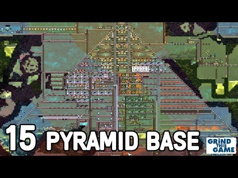 THREE PYRAMIDS BASE #15 -  MORE TUBES - Oxygen Not Included - Occupational Upgrade [4k]