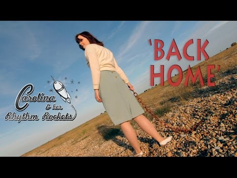 'Back Home' Carolina & Her Rhythm Rockets RHYTHM BOMB RECORDS (Official Music Video) BOPFLIX