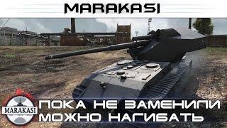 Пока не заменили можно нагибать на Waffenträger auf E 100 World of Tanks