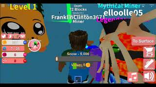 Roblox Mine Simulator Christmas Edition (Partie 2)