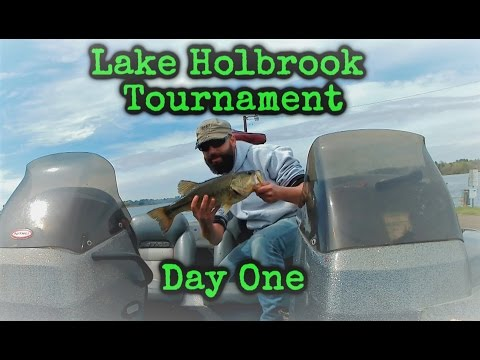 Day One On Lake Holbrook