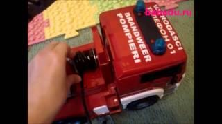 Видео обзоры Bruder Пожарная машина MAN с лестницей и шлангом