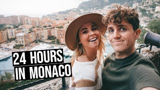 This is the Richest Country in the World!! (24 Hours in Monaco)