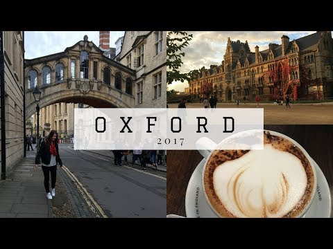 A DAY IN OXFORD, ENGLAND! travel guide
