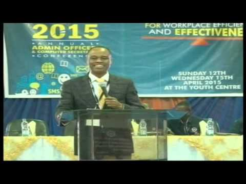 2015 Admin Conference - WELCOME ADDRESS & CHARGE by PASTOR J.F. ODESOLA