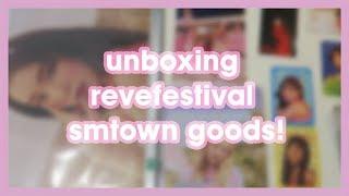 ミ⛦unboxing Revefestival Smtown Goods ⛥ミ