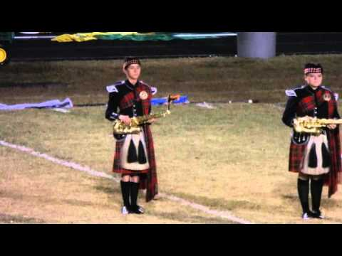 SCOTLAND HIGH SCHOOL MARCHING BAND NOVEMBER 6, 2015