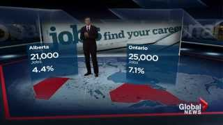 Canadian unemployment rate hits six-year