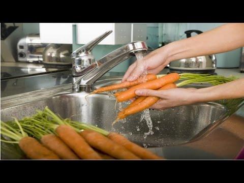 Curso Processamento Mínimo de Frutos e Hortaliças - Lavagem e Desinfecção