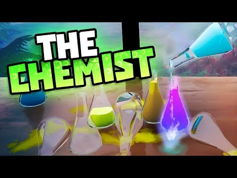 DON'T MIX THESE LIQUIDS - The Chemist Gameplay - New Chemist Simulator Game