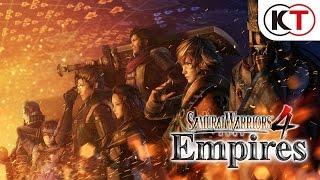 SAMURAI WARRIORS 4 EMPIRES - ANNOUNCEMENT TRAILER