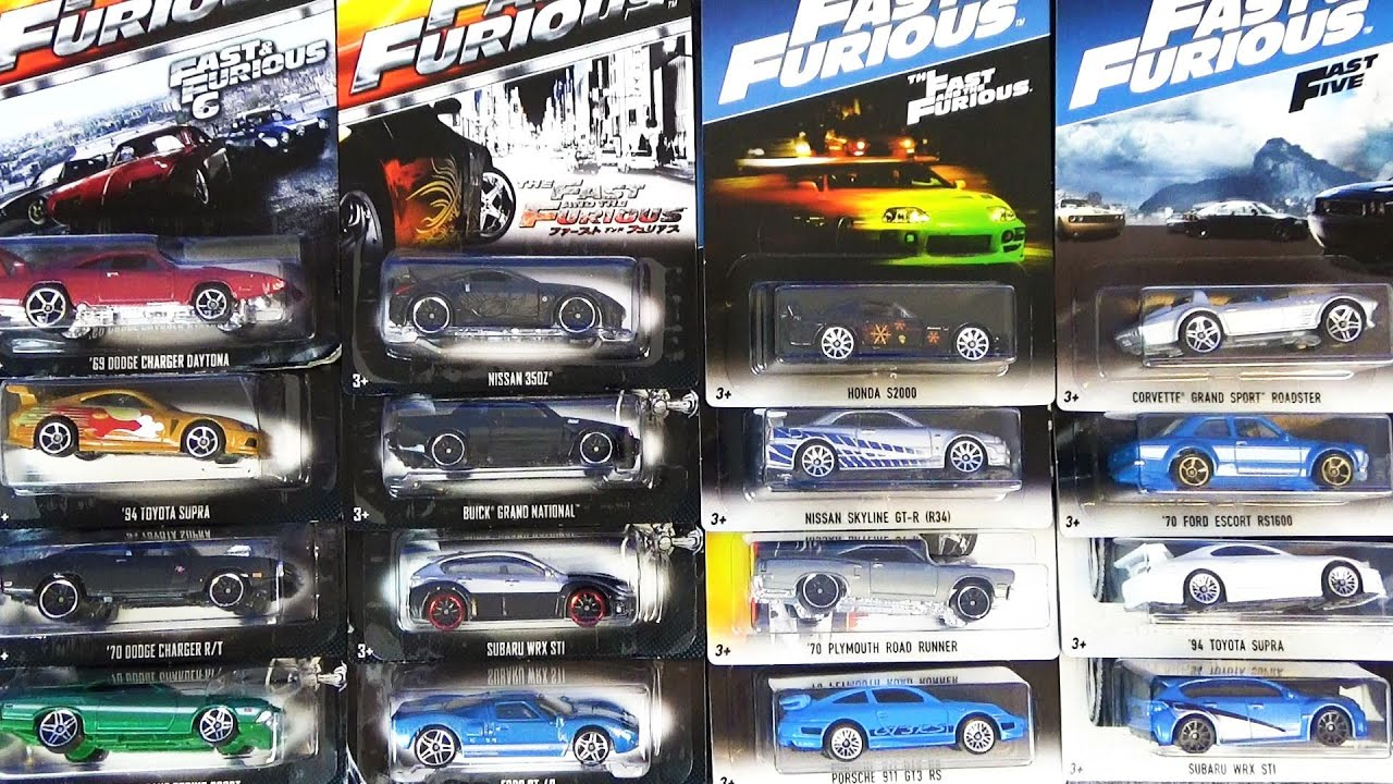 Hot Wheels Fast and Furious(ホットウィールのワイルドスピード)完全版を開封して遊ぼう♪